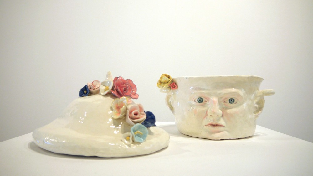 Earthenware clay- ceramic
